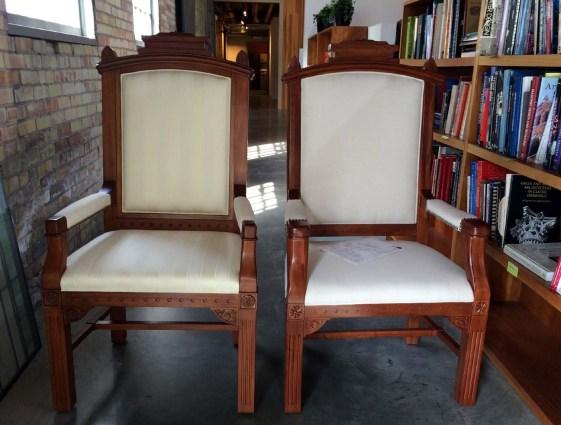 Gothic Arm Chair 1