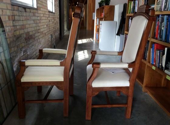 Gothic Arm Chair 2