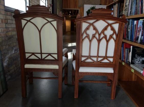Gothic Arm Chair 3
