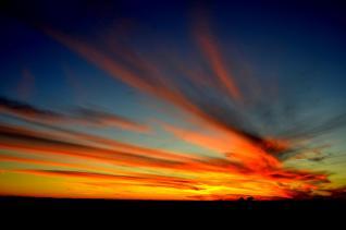 Idaho Sunset by Rachel Wightman