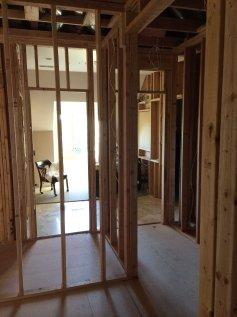bedroom door to dressing hall