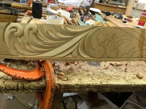 design shadow skirt carving